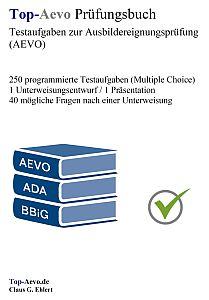 top aevo prfungsbuch ausbildereignungsprfung - Aevo Praktische Prfung Beispiele